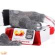 Paleos®BAMANOS FL-PUR-V (fingerless glove - Velcro closure)