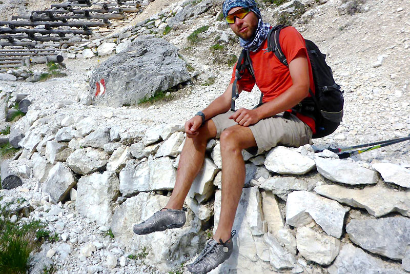 Paleos®CLASSIC (CLIFF) for the tough ones among our barefoots fans!