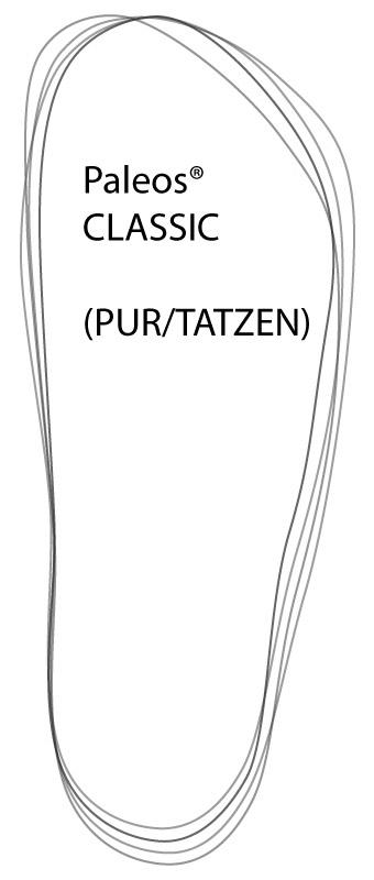 Paleos®CLASSIC (auch für abweichende Fuß- und Zehenformen)