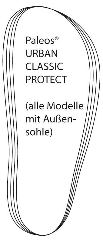 Paleos® mit Außensohle (für alle Fußformen)