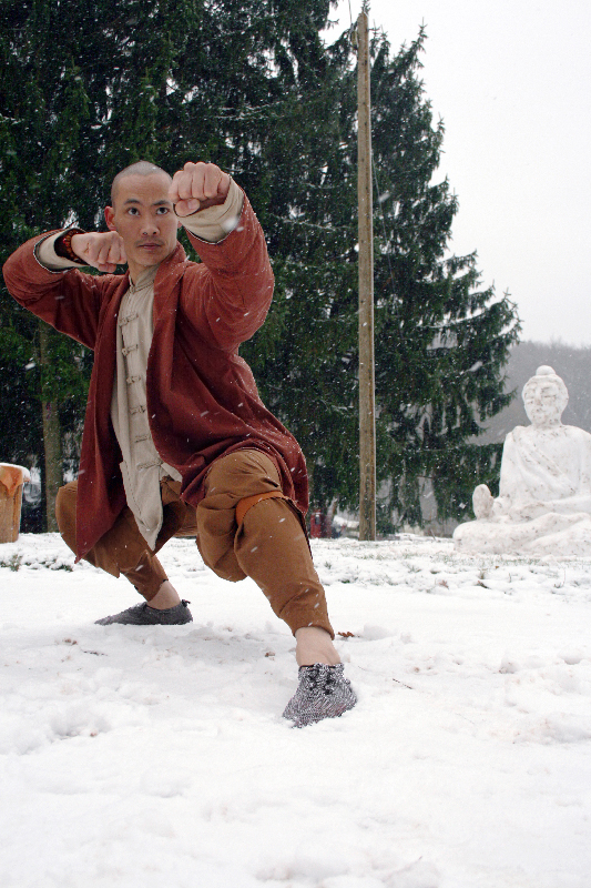 Carlos Dunick from the Shaolin Temple Europe