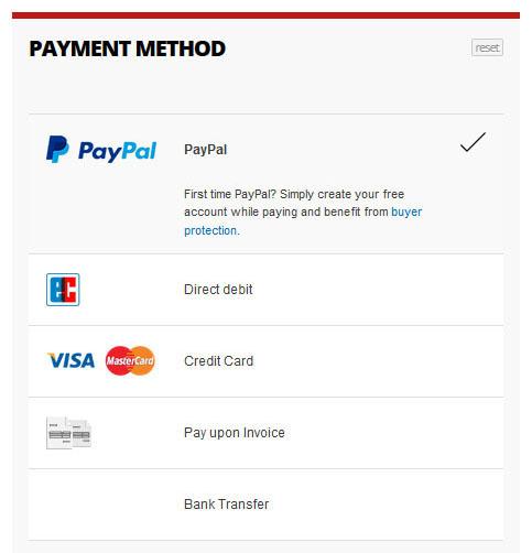 Paypal plus mastercard