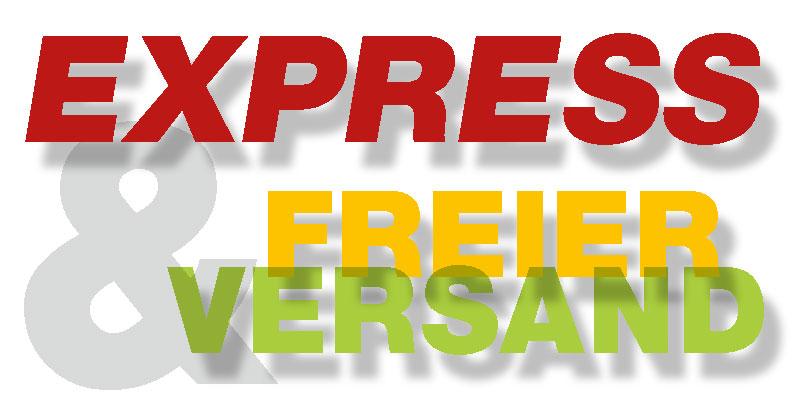 FREIER EXPRESS-Versand (weltweit max. 3-4 Tage)!