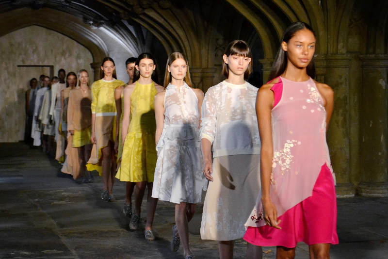 The Kat Walk! Paleos®X-COLOR at London Fashion Week