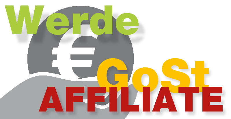 Werde (Affiliate) GoSt-Marketing-Partner