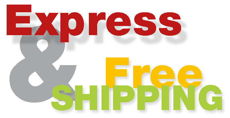 EXPRESS & FREE-SHIPPING!